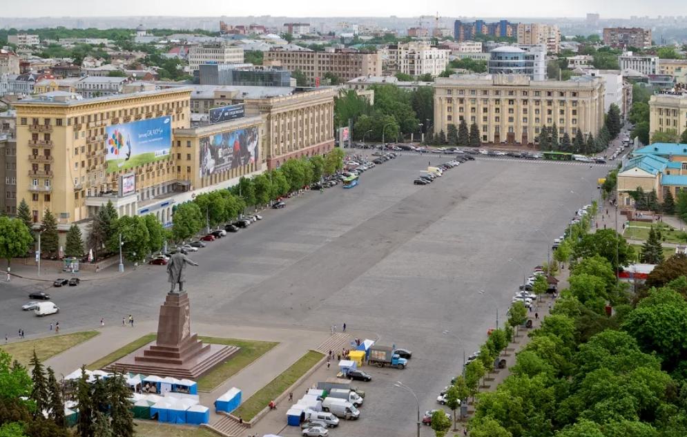 Площадь Свободы в Харькове