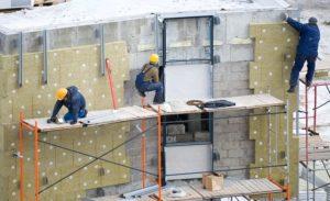 Фасадные работы: особенности и техника безопасности