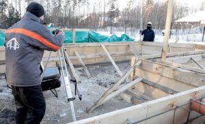 Зимние бетонные работы: как заливать бетон в мороз