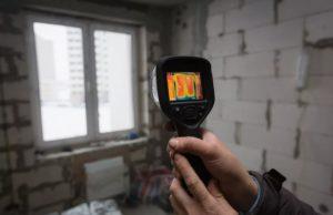 Диагностика квартиры и дома тепловизором