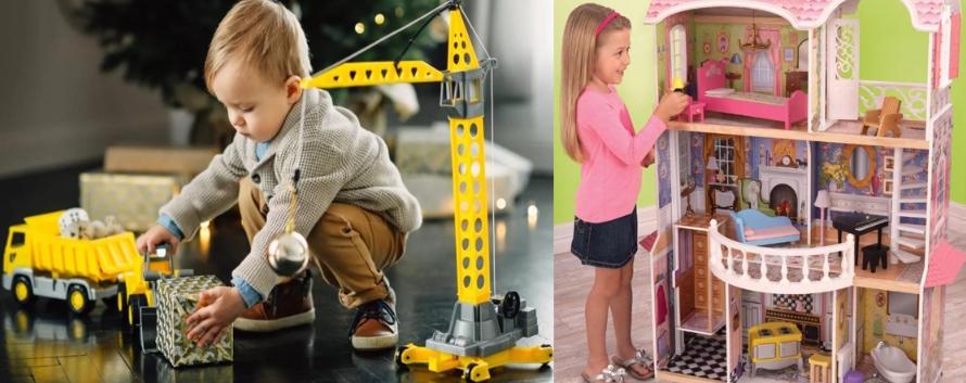 Подарки для детей от 3 до 7 лет