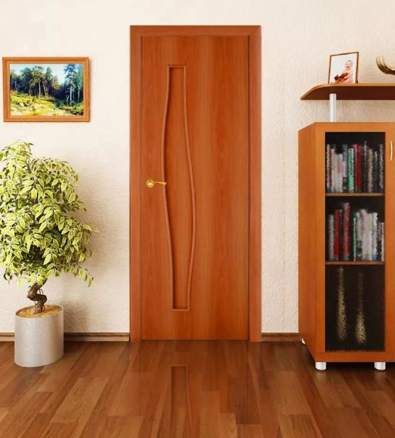 Межкомнатные дверь миланский орех