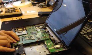 Поломки ноутбуков- основные причины