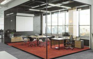 Акустические кабины в открытом офисе