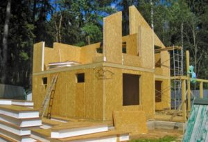 Технология строительства каркасно-щитового дома – преимущества и особенности