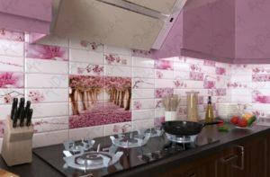Дизайн кухни: пластиковые стеновые панели