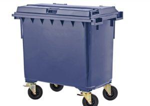 Пластиковые мусорные контейнеры 240 литров: назначение, особенности и сфера применения