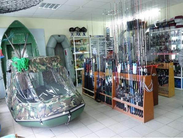 магазин оптовой торговли рыболовных принадлежностей