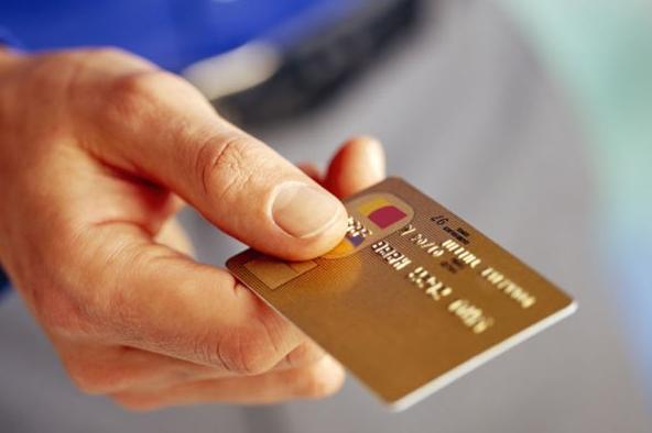 Пользование кредитной картой