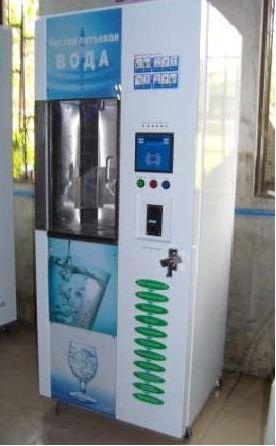 Автомат питьевой воды.