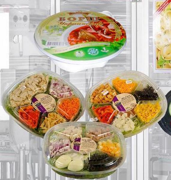 Фото этикеток на салат