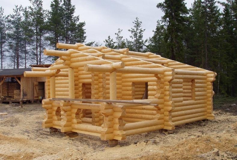 Как построить баню