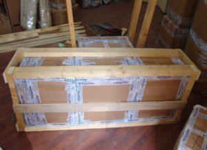 Упаковка грузов для перевозки