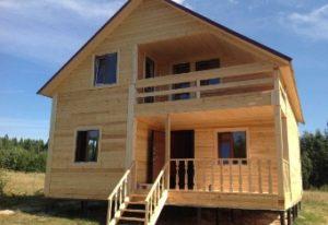 Плюсы и минусы приобретения готового дома из бруса