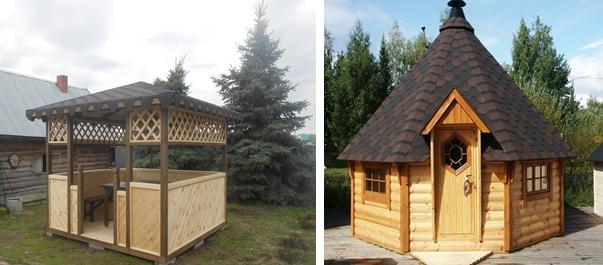 Образцы деревянных изделий